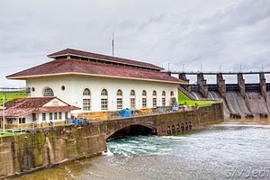 Gatun Dam - Gatun dam power generating station