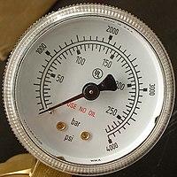 圧力測定 - BIGLOBE百科事典