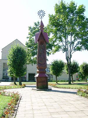 Gaurė - Monument built to commemorate 500 years jubilee