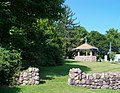 Gazebo and stone wall - panoramio.jpg