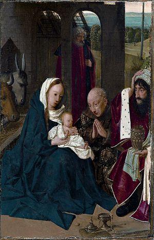 The Adoration of the Magi (Geertgen tot Sint Jans) - Image: Geertgen aanbidding door de koningen cleveland