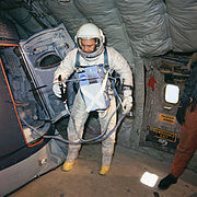 Gemini 10 Williams training