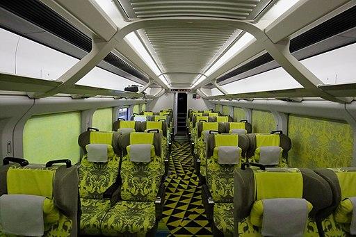 Genbi Shinkansen car 11 interior 20180106