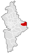 Location of General Bravo