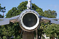 General Dynamics F-16A Fighting Falcon 81-0721 Block 15 Tailpipe MacDill Air Park 24July2010 (14628499604).jpg