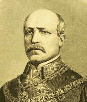 Francisco Serrano, 1st Duke of la Torre - General Serrano, in 1874.