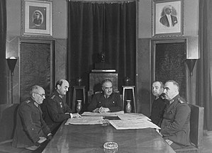 General Staff of the Republic of Turkey - A meeting led by Chief of the General Staff Fevzi Çakmak in the 1940s