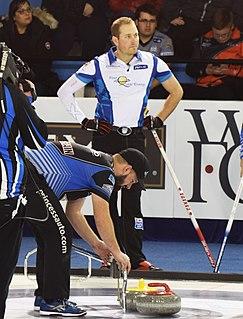 Geoff Walker (curler) Canadian curler