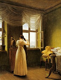 Georg Friedrich Kersting - At the Mirror - WGA12123.jpg