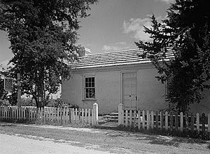 George Caleb Bingham House - George Caleb Bingham House in 1942