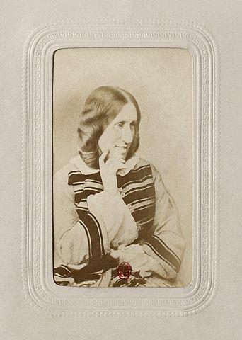 George Eliot, ca.1865