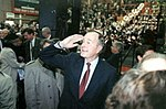 George H. W. Bush arriving at prayer breakfast.jpg