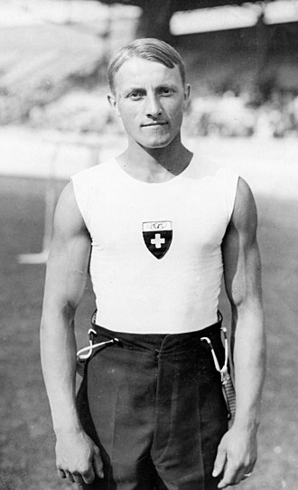 Georges Miez - Miez at the 1928 Olympics