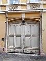 Gerchard House. Listed residential building ID 3817. Basa Street gate. - 1, Basa Street, Fő Street, Downtown, Székesfehérvár, Fejér county, Hungary.JPG