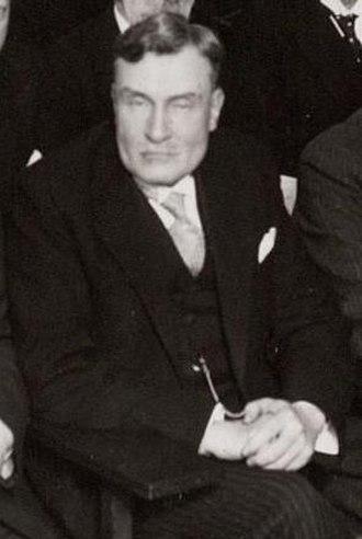 G. Ch. Aalders - G. Ch. Aalders in 1931.