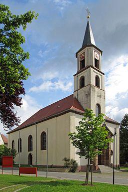 Die katholische Pfarrkirche St. Alban in Gersheim, Saarland