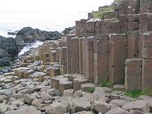 Giunti colonnari del Selciato del gigante, Irlanda del Nord.