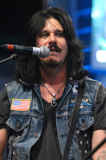 Gilby Clarke Rock rhythm guitarist, most notably with Guns N Roses