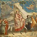 Giotto - Scrovegni - -20- - Flight into Egypt.jpg