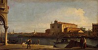 Giovanni Antonio Canal, il Canaletto - View of San Giovanni dei Battuti at Murano - WGA03870.jpg