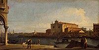 Giovanni Antonio Canal, il Canaletto - View of San Giovanni dei Battuti at Murano - WGA03870.jpg