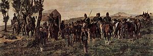 Battle of Custoza (1866) - Prince Amadeo wounded at Custoza (1870) by Giovanni Fattori