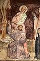 Giovanni cristiani e bottega, natività, crocifissione con santi e compianto, 1390 ca. 12 giovanni e san francesco.jpg