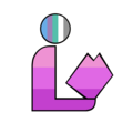 Girlflux Pride Library Logo.png