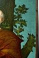 Girolamo Dai Libri - Madonna della quercia - 1533 after - Museo Castelvecchio, Verona (ITALY) detail Oak and Saint Peter.jpg