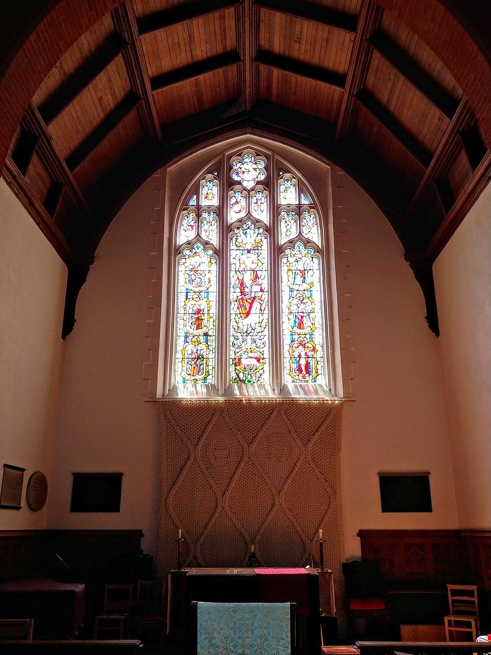 Girton College Chapel Window