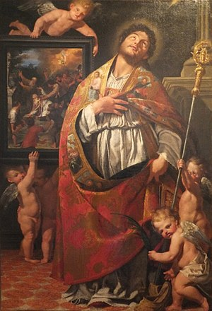 Giuseppe Alberti - Vigilius of Trent by Giuseppe Alberti, Museo Diocesano Tridentino, 1673