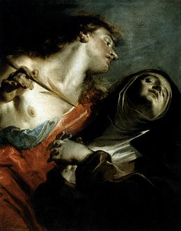 Giuseppe Bazzani - The Ecstasy of St Therese - WGA01527.jpg