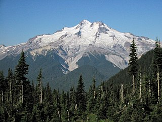Glacier Peak Stratovolcano in Washington