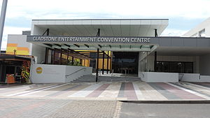 Gladstone Region - Image: Gladstone Entertainment & Convention Centre, 58 Goondoon Street, 2014