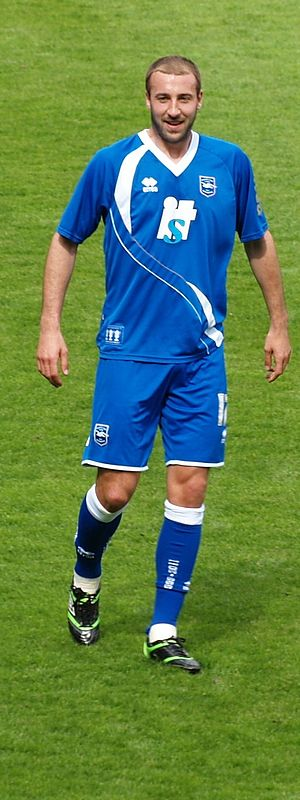 Glenn Murray - Murray playing for Brighton & Hove Albion in 2011