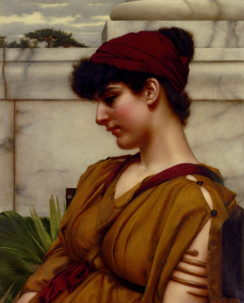 Godward-A Classical Beauty In Profile.jpg