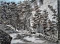 Goethes Gartenhaus Rückseite@Drawing by Goethe.JPG