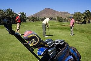 English: Golf Costa Teguise, Sands Beach Hotel...