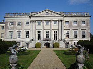 "Old Gorhambury House -  The ""new"" Gorhambury House, built in 1777–84"