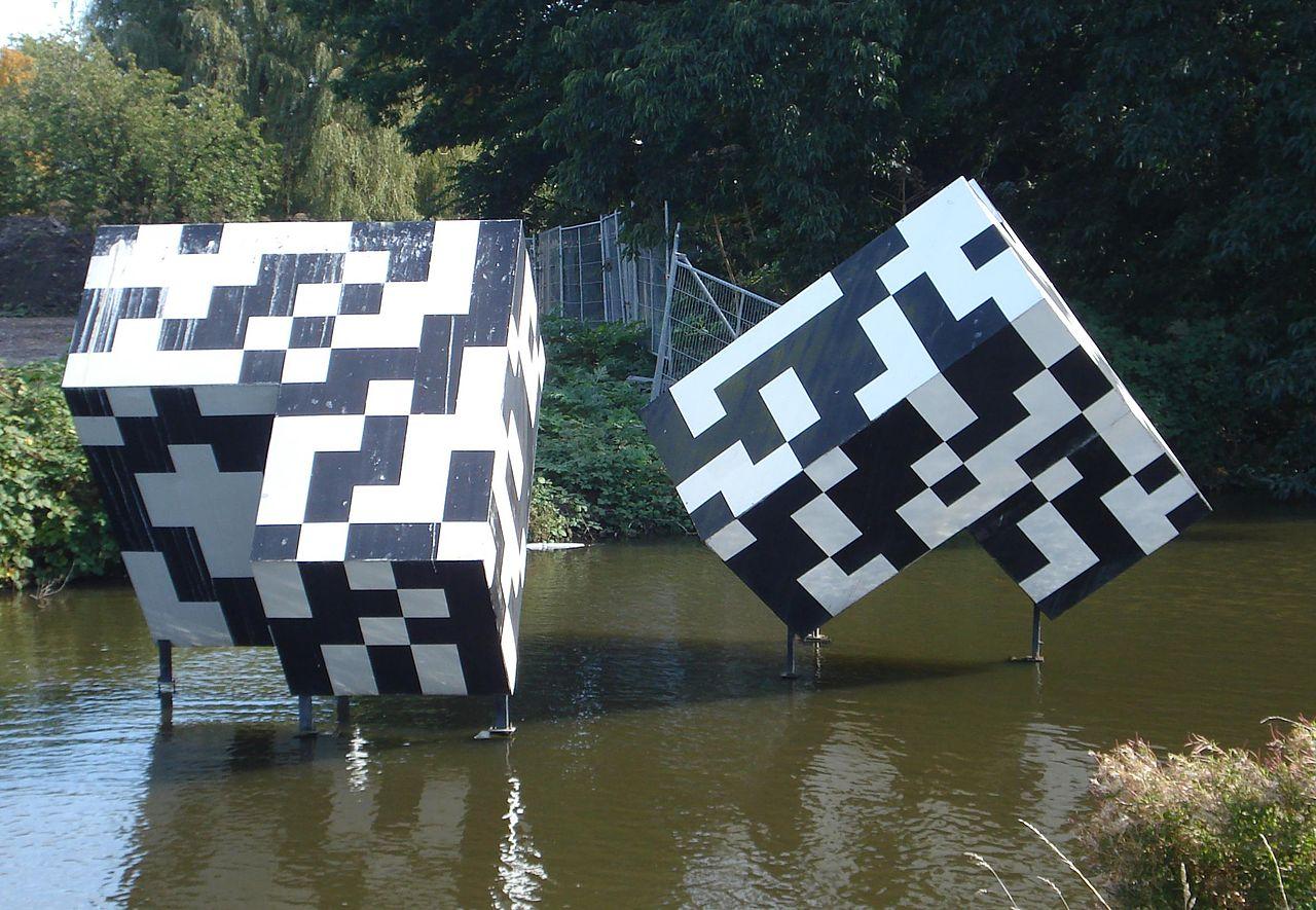 Gorinchem kunstwerk kubussen random structure.jpg