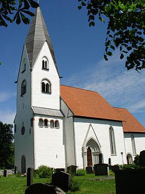 Stenkumla Church - Image: Gotland Stenkumla Kirche 01