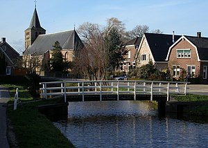 Goudriaan - Goudriaan, with the church originating from the fourteenth century
