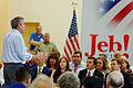 Governor of Florida Jeb Bush at TurboCam, Barrington, New Hampshire on August 24th by Michael Vadon.jpg