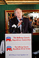 Governor of Virginia Jim Gilmore at Belknap County Republican LINCOLN DAY FIRST-IN-THE-NATION PRESIDENTIAL SUNSET DINNER CRUISE, Weirs Beach, New Hampshire May 2015 by Michael Vadon 10.jpg
