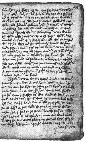 Gríms saga loðinkinna - Gríms saga loðinkinna AM 109 a II 8°x folio