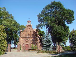 Grabkowo Village in Kuyavian-Pomeranian, Poland