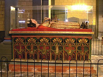 Maria Laach Abbey - Tomb of Henry of Laach at Maria Laach Abbey