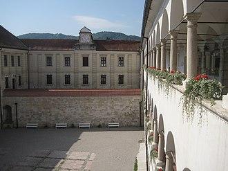 Brežice Castle - Brežice Castle, inner courtyard