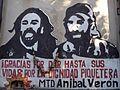 Graffiti en estación Darío y Maxi.JPG