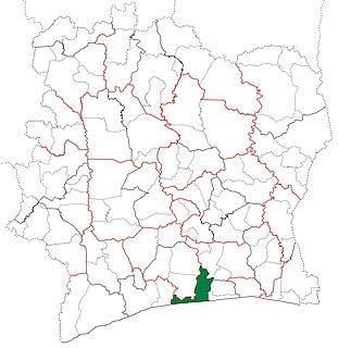 Grand-Lahou Department Department in Lagunes, Ivory Coast